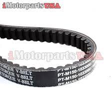 twister hammerhead go kart parts drive belt m150 1033000 hammerhead twister 150 150cc go kart clutch torque belt