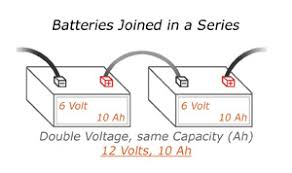wiring batteries in a series and parallel chrome battery series