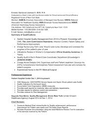 Quality Management Resume
