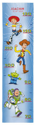 Toy Story Height Chart