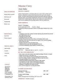 Sample Car Salesman Resumes Car Salesman Resume Disenosyparasolestropicales Co