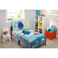 disney finding dory piece toddler bedding set sets sports quilt white comforter sheets beds girls ior
