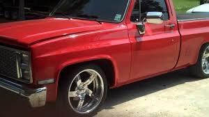 84 chevy c10, 502, a/c - YouTube