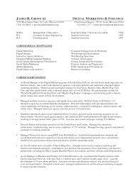 Online Marketing Resume Sample Resume Peppapp