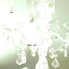 chandelier style table lamp crystal tab