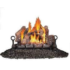 30 in vent free propane gas log set
