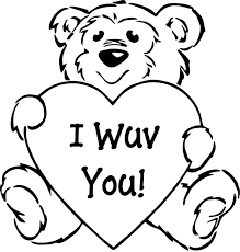 Valentine Coloring Pages Archives Throughout Printable Valentine