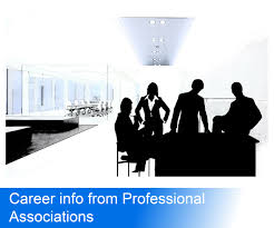 career info from professional associations