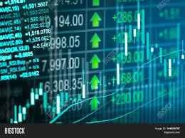 Stock Market Analysis Financial Stock Market Data Candle Image Photo Bigstock 9