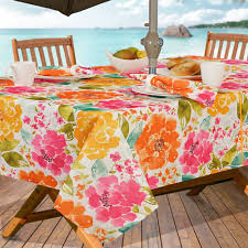 Outdoor Tablecloth With Zipper