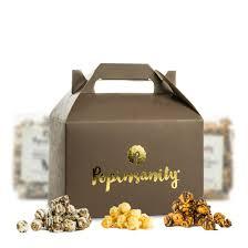 gourmet popcorn purim gift box