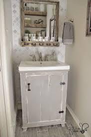 Shabby Chic Bathroom Adorable Shabby Chic Bathroom Ideas Espresso Wooden Bath Vanity