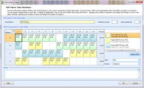7 Shifts Employee Login Employee Scheduling Example 24 7 8 Hr Shifts At Least 4 Days Off