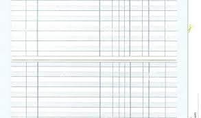 Printable Checkbook Register Template Large Print Check Free