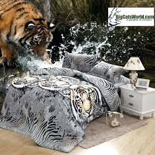 tigers comforter combo tiger face white tiger skin print photographic image comforter set tigers comforter
