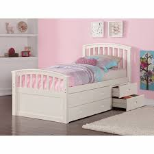 Bedroom: Twin Bed Frame With Storage Unique Bedroom White Twin With ...