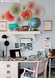 office craft ideas. DIY Home Office And Craft Space By RobbRestyle.com Ideas