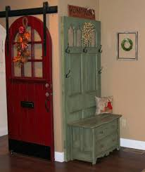 Image of: Mini Hall Tree With Storage Bench