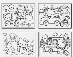 o kitty coloring book