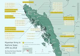 The Structure And Operations Of The Myanmar Army In Rakhine