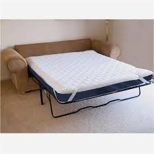 best sofa bed mattress topper new mattress pad for sleeper sofa collection in sofa bed