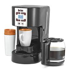Coffee Maker Carafe And Single Cup Amazoncom Brim 50001 Size Wise Programmable Coffee Station
