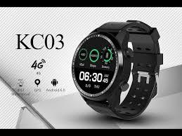 <b>KC03 4G Smart Watch Phone</b> - YouTube