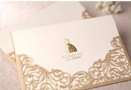 discount blank printable wedding invitations 2017 blank Discount Blank Wedding Invitations gold wedding invitations vintage hollow lace laser cut printable wedding cards blank card 170*115mm wedding favors discount blank printable wedding cheap blank wedding invitations