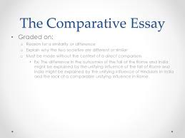 introduction to world history ap ppt the comparative essay graded on reason for a similarity or difference