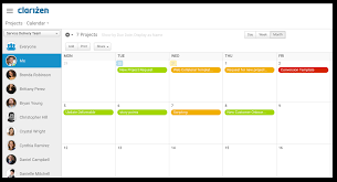 Project Management Teams Task Calendar What Is The Primary Function