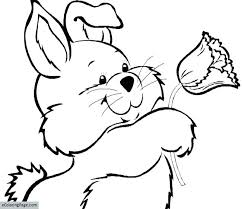 Easter Bunny Coloring Pages Free Printable Bunny Printable Coloring