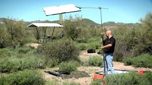 Outdoor Interview Lighting Diffusion Panels For Outdoor Video Lighting