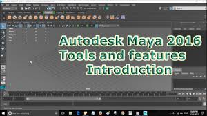 autodesk maya 2016 tools and function introduction