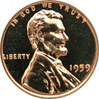 Lincoln Memorial Penny Values Chart 1959 Lincoln Penny Value Cointrackers