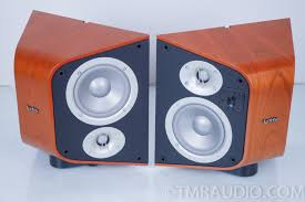infinity surround speakers. infinity c255es surround speakers cherry; mint in factory boxes | the music room