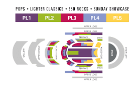 Price Levels By Series Winspear Centre