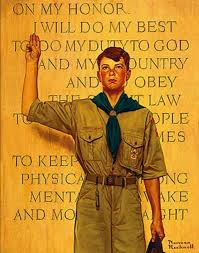 salt lake city ap twenty three original boy scout themed norman rockwell paintings are on display in salt lake city to celebrate the 100 year