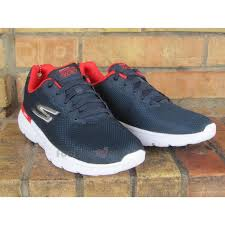 skechers go run 400. zoom immagine shoes skechers go run 400 - action sneakers 54351 nvrd running man navy red a