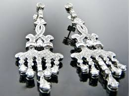 medium size of thumb white gold diamond chandelier earrings extraordinary home improvement silver india for wedding