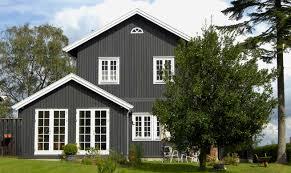 Dänische Holzfenster Zur Welt Hin Zu öffnen