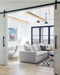 living room barn door ideas