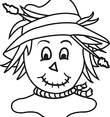 scarecrow coloring pages free printable scarecrow coloring sheets fall coloring pages for toddlers new security scarecrow