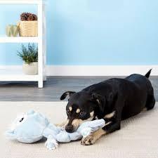 outward hound squeaker matz abominable snowman dog toy