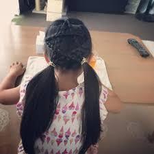 ほし三つ編み Hair Hairstyle ヘアアレンジ 簡単ヘアアレンジ
