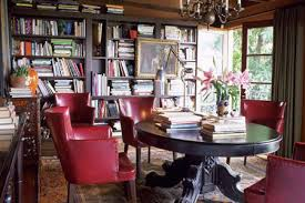 home library lighting. Unique Lighting Cozy Home Library Furnished With Antique And Vintage Finds To Home Library Lighting I