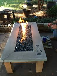 build your own gas fire table wwweasyfirepitscom diy pit u50 pit