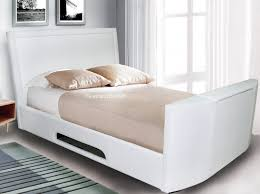 king size tv bed. Perfect Bed Signature Rathbone Ivory White Kingsize TV Bed  Intended King Size Tv