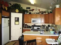 Decorating Above Kitchen Cabinets Kitchen Extraordinary Decorating Above Kitchen Cabinets For Your
