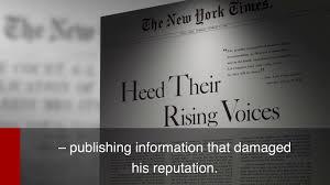 New York Times V Sullivan Us Supreme Court Decision New York Times V Sullivan