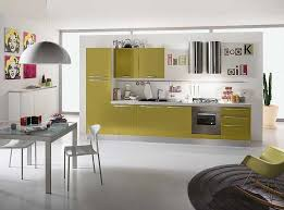 small space kitchen ideas: awesome kitchen cabinets design for small space with stylish kitchen design for small space with olive